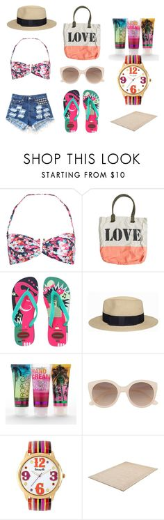 Summer!!! by salbiylaazzara-fashion on Polyvore featuring Accessorize, Havaianas, Billabong, Betseyville, Ryder, Witchery and Simple Pleasures