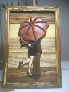So so nice wooden home decor - Salvabrani Intarsia Wood Patterns, Wood Carving Patterns, Wooden Art, Wood Wall Art, Dremel Wood Carving, Plaster Art, Intarsia Woodworking, Puzzle Art, Slab Pottery