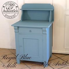 Toiletbord Royal Blue Autentico kalkmaling