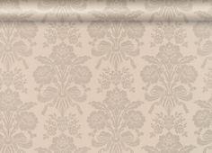 Tatton Truffle Damask Wallpaper