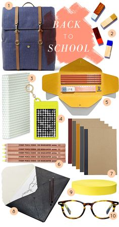 School Supplies for Grown-Ups: 10 Stylish Picks for College, Grad School, and Beyond (Design*Sponge) - Modern