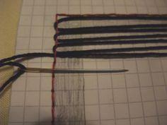 needleweaving | Tenar's cave