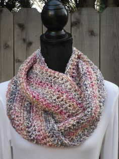 A personal favorite from my Etsy shop https://www.etsy.com/listing/177209559/mimosa-infinity-eternity-cowl-neck