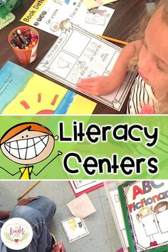 Kindergarten Literacy Centers is a how-to manual that is packed full of tips and activities for successfully and easily starting and maintaining centers in your classroom. This Bundle is complete and includes 9 units of literacy center activities. Primary Teaching, Primary Classroom, Teaching Activities, Hands On Activities, Classroom Activities, Fun Learning, Teaching Resources, Teaching Ideas, Classroom Ideas
