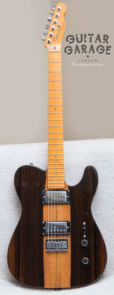 2013 Fender Select Telecaster HH Malaysian Blackwood with Fender USA Deluxe neck, Seymour Duncan Jazz in the neck and Fender Dragster in the bridge, CTS 500K pots, Orange Drop capacitor, Oak Grisby 3-way switch, Fender Staggered Tuners and Schaller straplock buttons