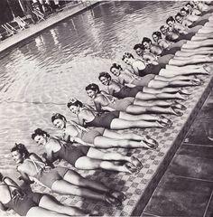 1940s.... No, women weren't thinner back then.