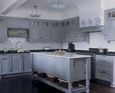 gray cabinets :)