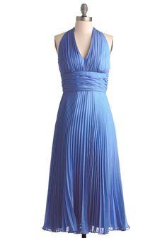 University of Marilyn Dress in Cobalt | Mod Retro Vintage Dresses | ModCloth.com