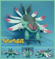 Pokemon paper crafts