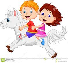 vetor menina montando cavalo - Pesquisa do Google