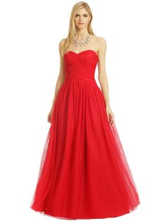 Bold Red Ball Gown