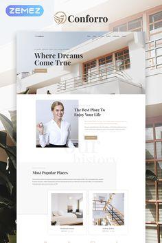 Conforro - Real Estate Elemetor WordPress Theme, #Affiliate #Estate #Real #Conforro #Theme