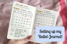 A video talk-through about how I sept up my new bullet journal. I work in a pocket sized moleskine notebook with dotted pages. What is Echolalia? video: http. Dotted Bullet Journal, How To Bullet Journal, Bullet Journal Spread, Bullet Journal Layout, Bullet Journal Inspiration, Bullet Journals, Small Journal, Journal Pages, Journal Ideas