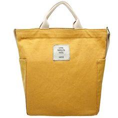 Tote Handbags, Cross Body Handbags, Gucci Handbags, Gucci Bags, Yellow Handbag, Canvas Messenger Bag, Canvas Shoulder Bag, Casual Bags, Backpack Bags