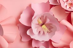 Celebrate Pink Day with DIY Paper Flowers | The Find by zulily | @zulily