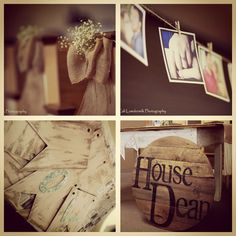 The Dean Wedding ~ Craft Ideas | Beyond the Screen Door