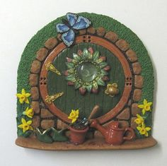 Springtime fairy door | Flickr - Photo Sharing!