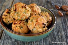 Chicken Zucchini Poppers (omit the cheese of course)