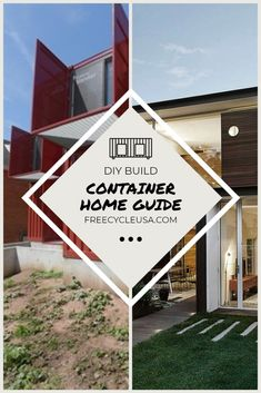 Introduction to Designing a Shipping Container House  #containerhome #container house #freecycleusa Shipping Container House Plans, Building A House, How To Plan, Architecture, Projects, Design, Arquitetura, Architecture Illustrations