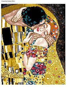 Klimt - Il bacio 1