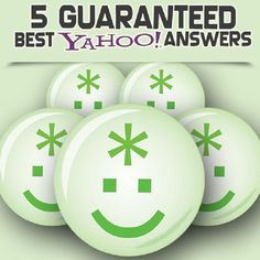 yahoo_bd: get you 5 best answers on yahoo answers for $5, on fiverr.com