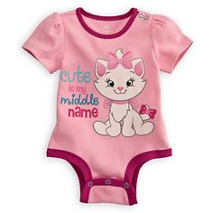 Marie Disney Cuddly Bodysuit for Baby | Bodysuits | Disney Store