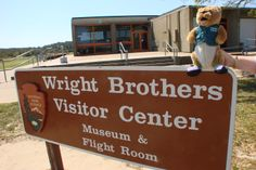 The Wright Brothers National Memorial is in North Carolina, but Orville and Wilbur Wright grew up in Ohio!