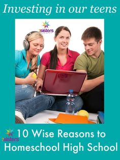 10 Powerful Reasons to Homeschool High School. Thinking about education and the teen years? Here are some reasons to consider for homeschooling high school. High School Years, In High School, High School Students, Middle School, High School Curriculum, Writing Curriculum, Home Schooling, Graduate School, Education
