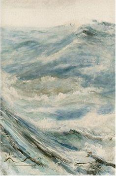 Willi Gottschalk,, Öl auf Leinwand,Traum des Physikers II, Painting, Outdoor, Art, Physicist, Oil On Canvas, Water, Outdoors, Art Background, Painting Art