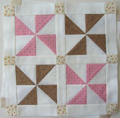 All sizes | Pinwheel Sampler Block Two | Flickr - Photo Sharing!