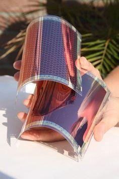 New flexible organic solar panels: