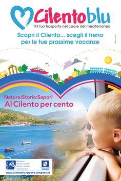 """Campagna pubblicitaria progetto """"Cilento Blu"""": Graphic Designer, Photo Editor"""