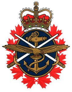 Canadian Forces Emblem Rex Murphy's (CBC Radio host of On Cross Country Checkup) topic was: rethinking Afghanistan He posed the questio. Canadian Soldiers, Canadian Coins, I Am Canadian, Canadian History, Canadian Rockies, Royal Canadian Navy, Military Life, Military Quotes, Military Service