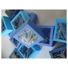 Window Gift Boxes  Original Design  Jewelry Boxes  by BoxesSquared, $36.00