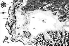 Map of Alagaesia from Eragon by Christopher Paolini Fantasy Map, Fantasy World, Eragon Saphira, Inheritance Cycle, Christopher Paolini, Got Dragons, Fictional World, Cool Books, Hand Illustration