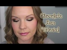 ▶ Golden Bronze Chocolate Bar Palette Tutorial! - YouTube