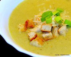 Nejedlé recepty: Pórková polévka Czech Recipes, Ethnic Recipes, Thai Red Curry, Czech Food, Anna