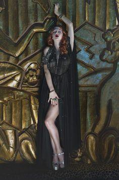 Oh Yes Celeste Stellar Celestial Goddess Kaftan