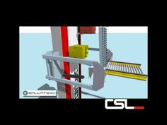 Prorunner Mk5 Vertical Elevator- Conveyor Systems Ltd - YouTube