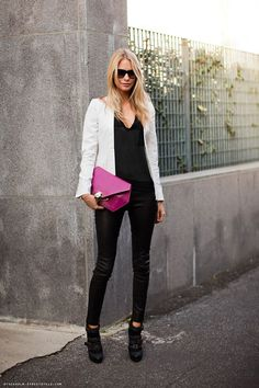 What to wear with a White Blazer - Glam Bistro
