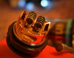 Love the tones of the pic & nice dual coil build by @raulzaldivar  The Kylin RTA is also compatible with single coil build.