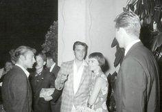 Elvis and Natalie Wood Elvis Presley Young, Young Elvis, Elvis Presley Photos, Nick Adams, Gary Cooper, Natalie Wood, Elvis Cd, Elvis Quotes, Elvis Collectors