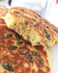 Low carb a keto jednoduchý chleba z pánve - Keto Recepty