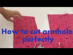 In this video, I have shown how to cut back armhole, front armhole and shoulder drop. You can follow me on below facebook, twitter and google+ page Facebook ...