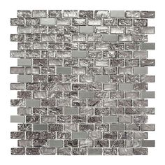 Jeffrey Court Palazzo 11-7/8 in. x 12 in. x 8 mm Glass and Metal Mosaic Wall Tile-99792 at The Home Depot