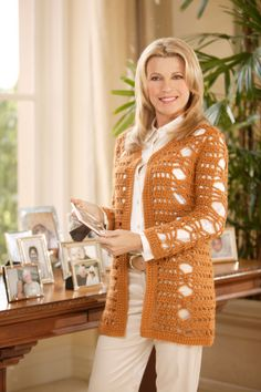Everyday Elegance Cardigan - the color needs to change...but love the design