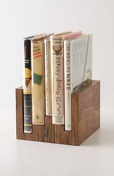 Wooden Book Ends from Anthropologie