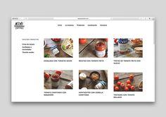 """Conservas artesanas """"Pepejo el labrador"""" - Diseño web"""