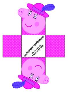 Forminhas Docinhos Mamãe Pig: