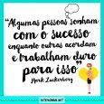 Frase Mark Zuckerberg sobre sucesso